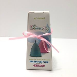 Athena Menstrual Cups 2 Pack Size 2